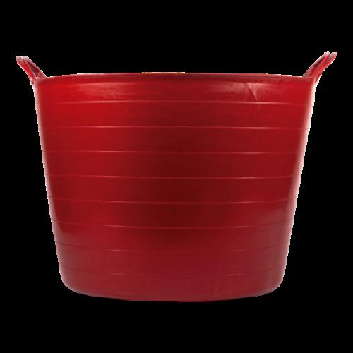 Bellota piros műanyag vödör 42L
