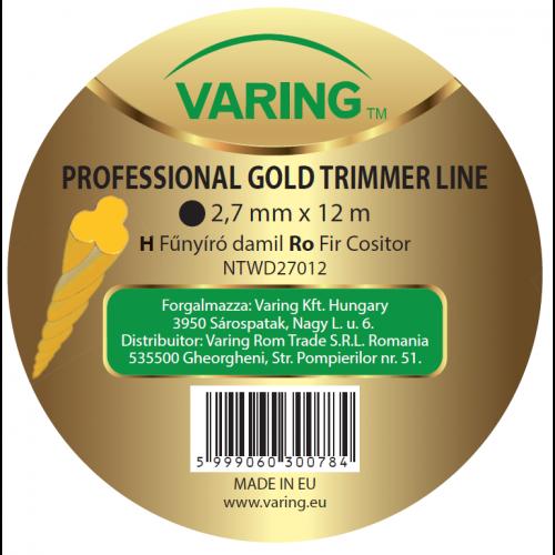 Varing fűnyíró damil Dispenser GOLD 2,7mm 12m csavart profil