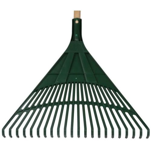 Lombseprű  PVC zöld nyelezett